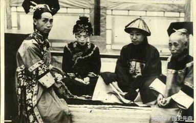 """大清灭亡之后,宫女们滋润依旧,到了日本人手里,却遭了"""""""
