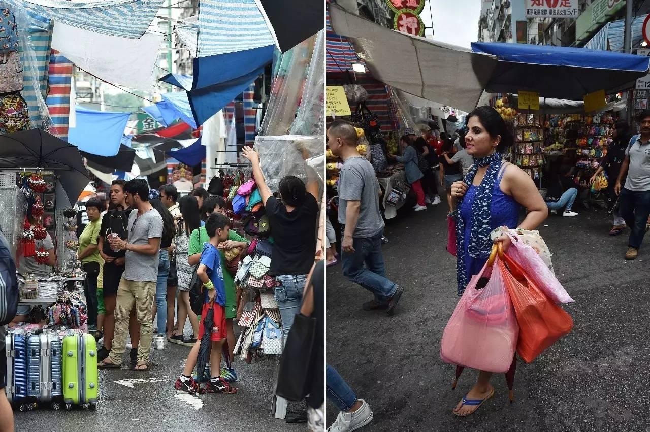 """香港女人街47年,两代人血拼,年入百万有了自己的房产"""""""