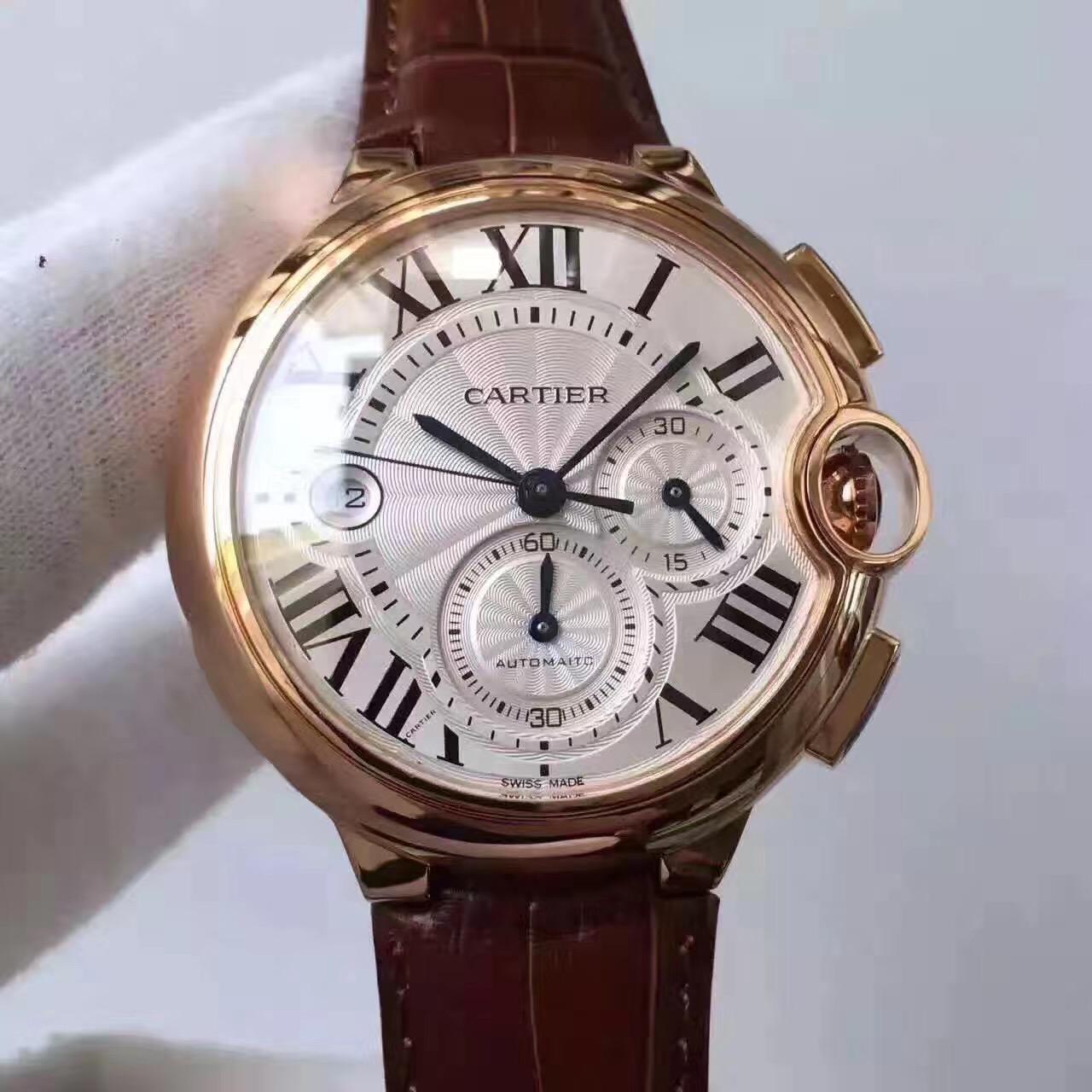 绅士型男必备的卡地亚腕表,成熟大气范