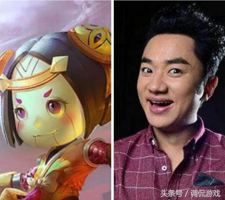 王者荣耀的游戏角色撞脸明星,到底更像谁