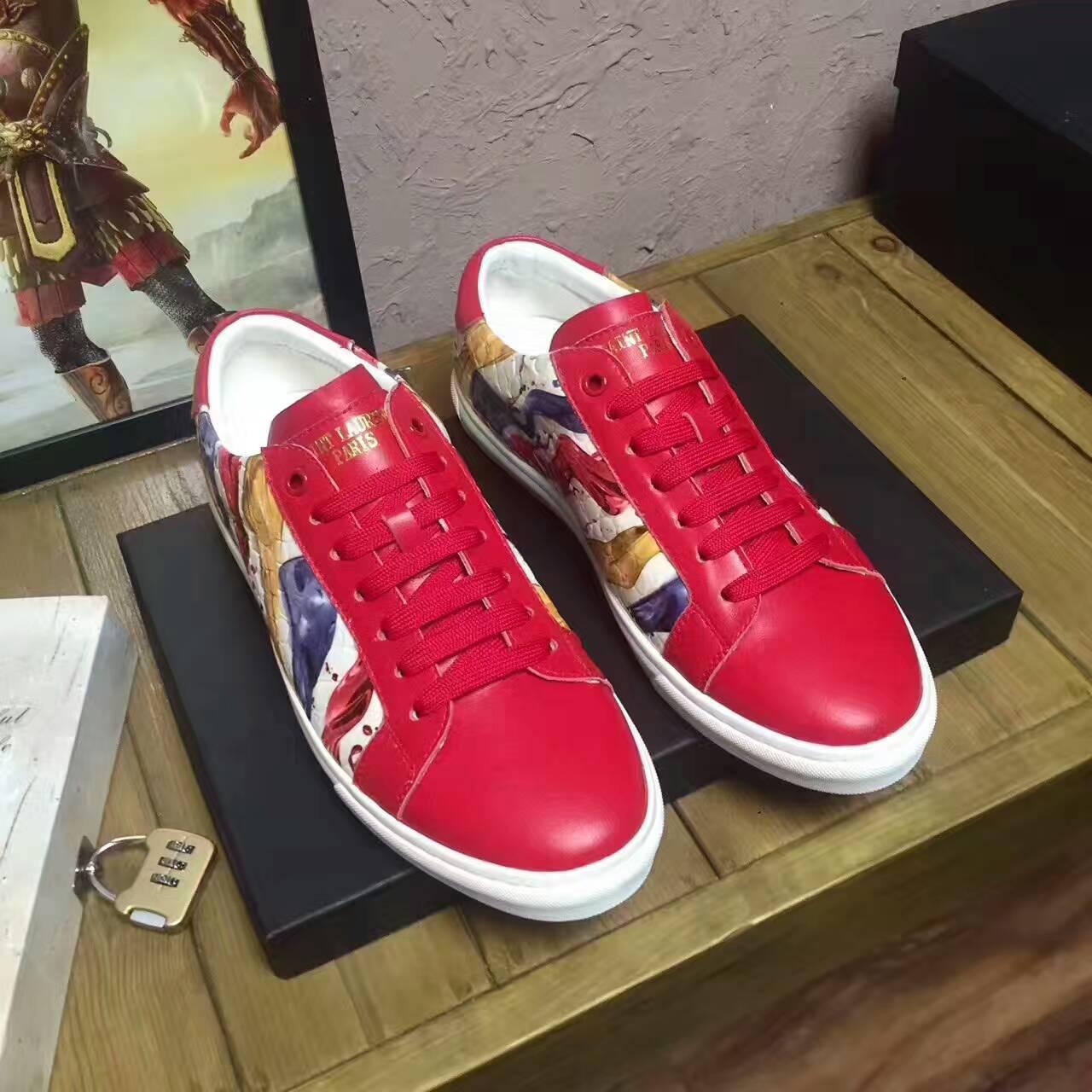 slp圣罗兰板鞋鞋带的系法你会几种呢?图片