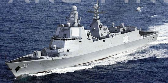 """认输?还是炒作?美国投入巨资建造新一代军舰应对中国"""""""