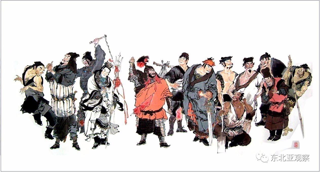 水浒传108好汉,步战前五,林冲只能屈居第四