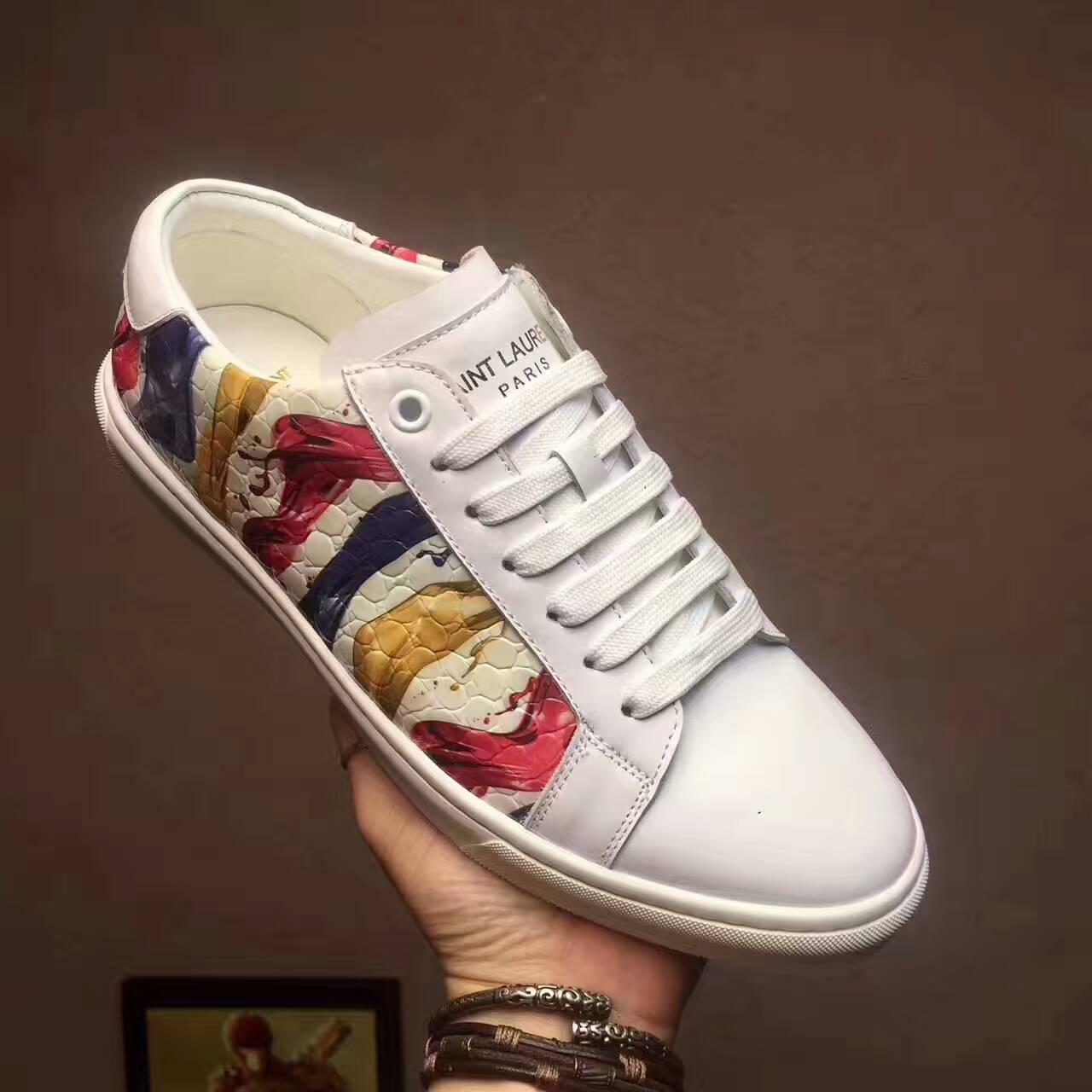 slp圣罗兰板鞋鞋带的系法你会几种呢