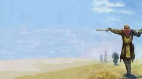 """《大话西游》里的紫霞仙子指着至尊宝的背影说:""""那个人好像一只狗哦!"""