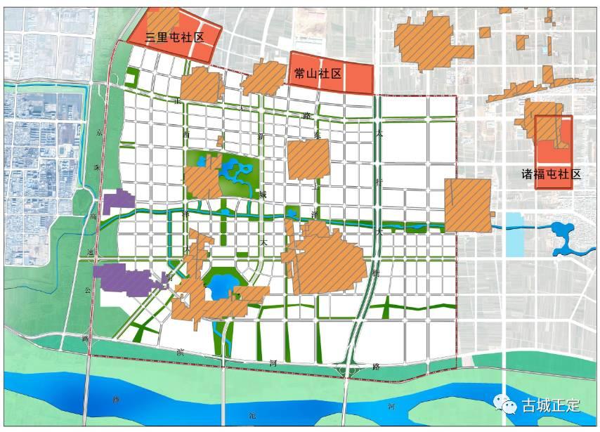 正定新区规划图高清