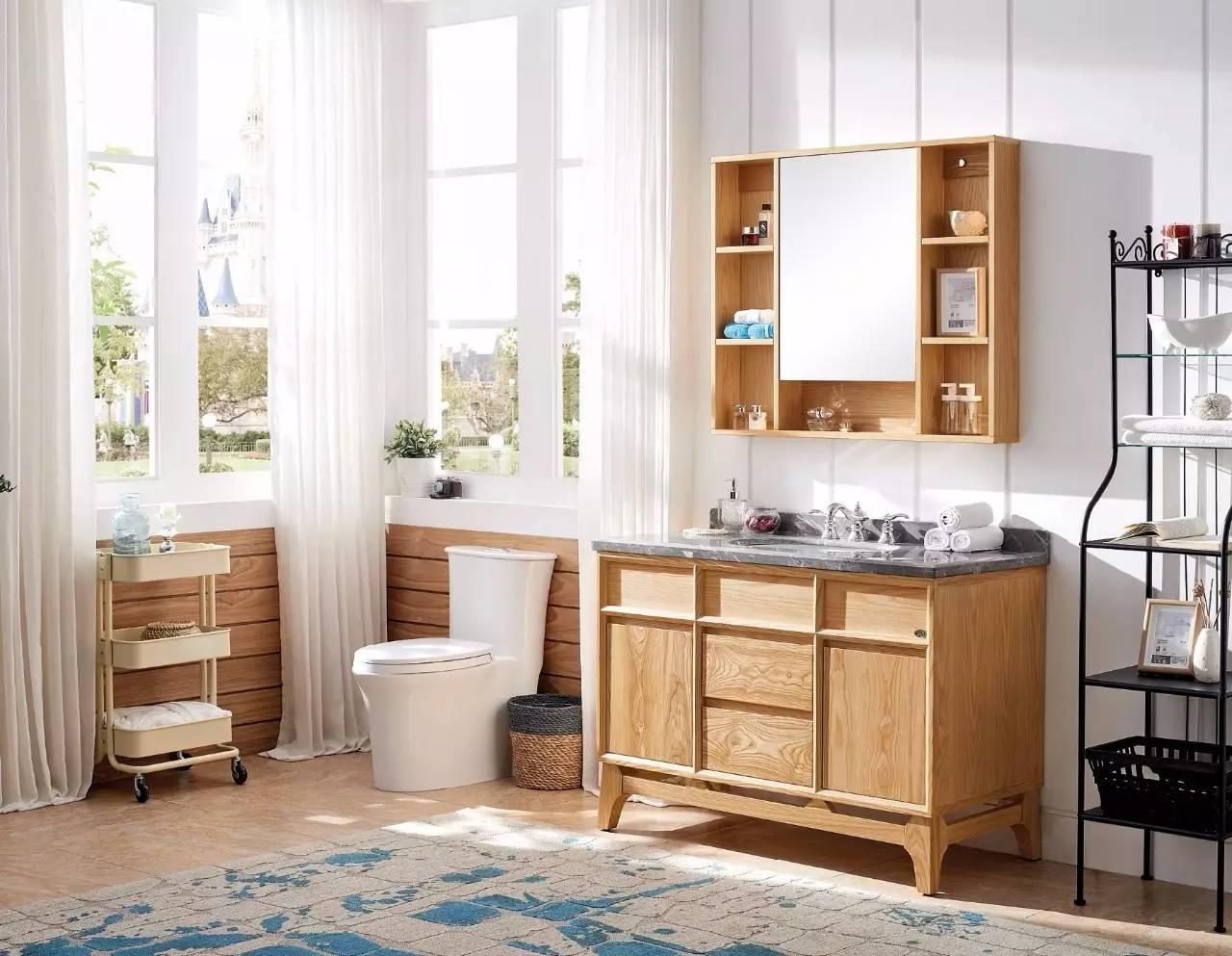 关于北欧风格浴室柜的产品知识清单图片