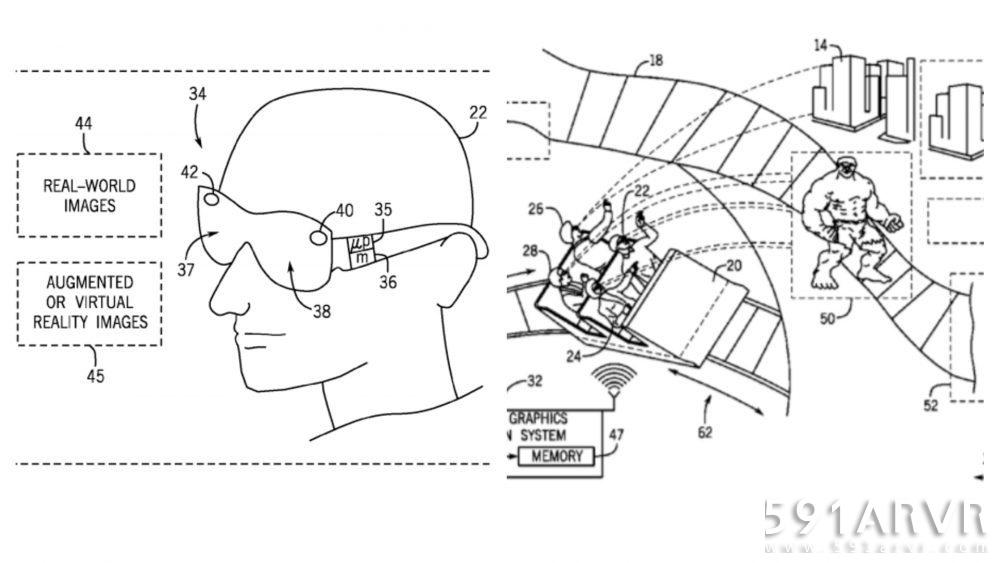 环球正在研究AR和VR的主题公园游乐设施