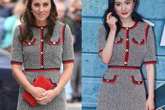 """凯特王妃与大幂幂撞衫 这个品牌让王室圈沸腾 王室"""""""