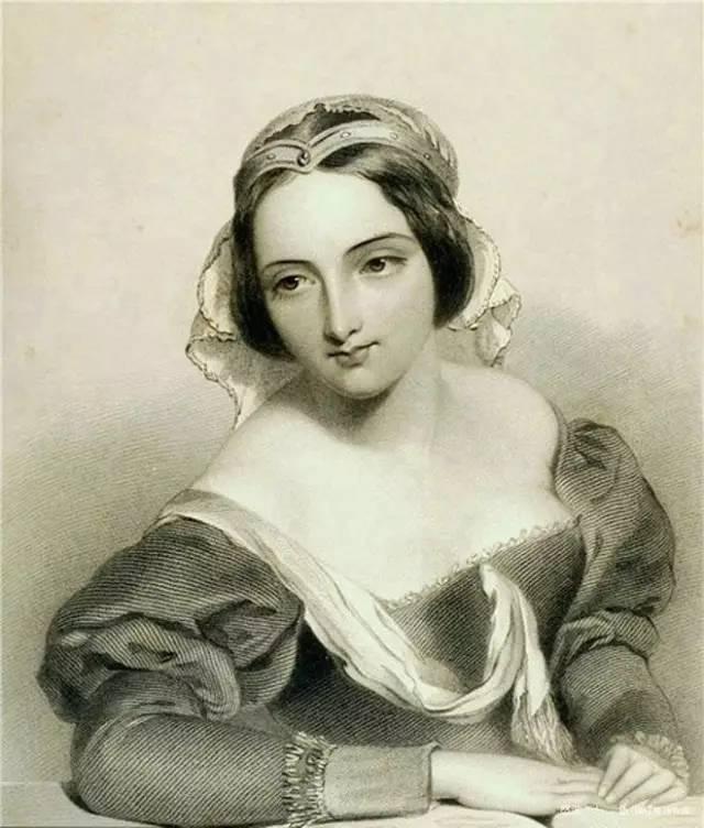 法国古典公主素描