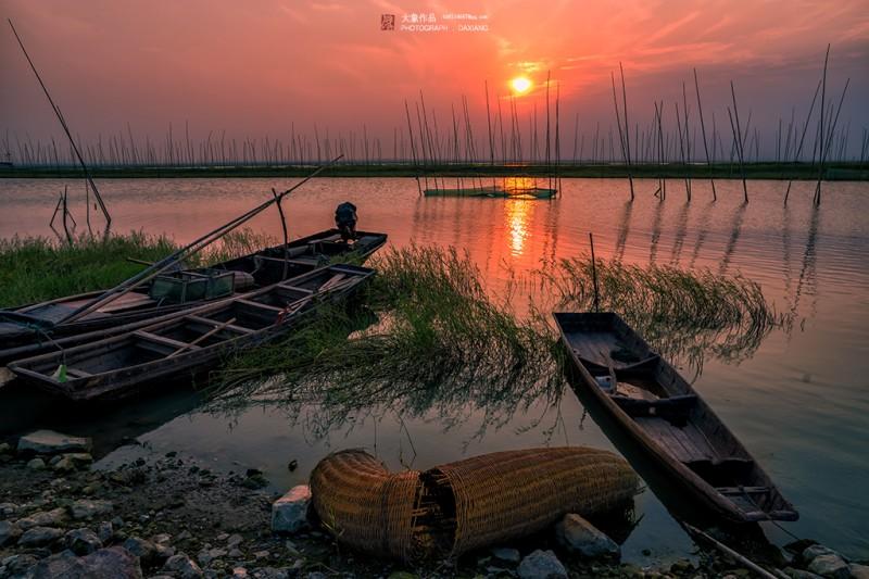 南京【石臼湖】旅游景点很适合影视外景拍摄取景基地