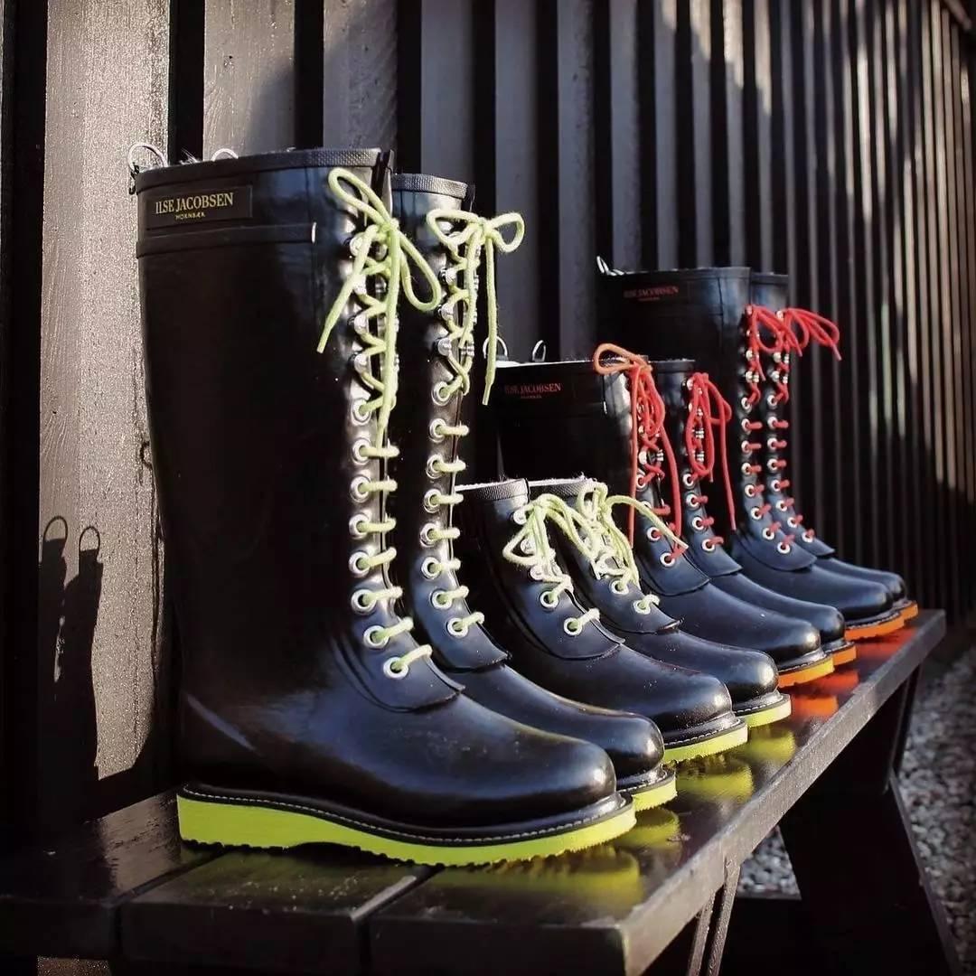 穿上这些雨鞋,让你爱上这个夏天的雨季