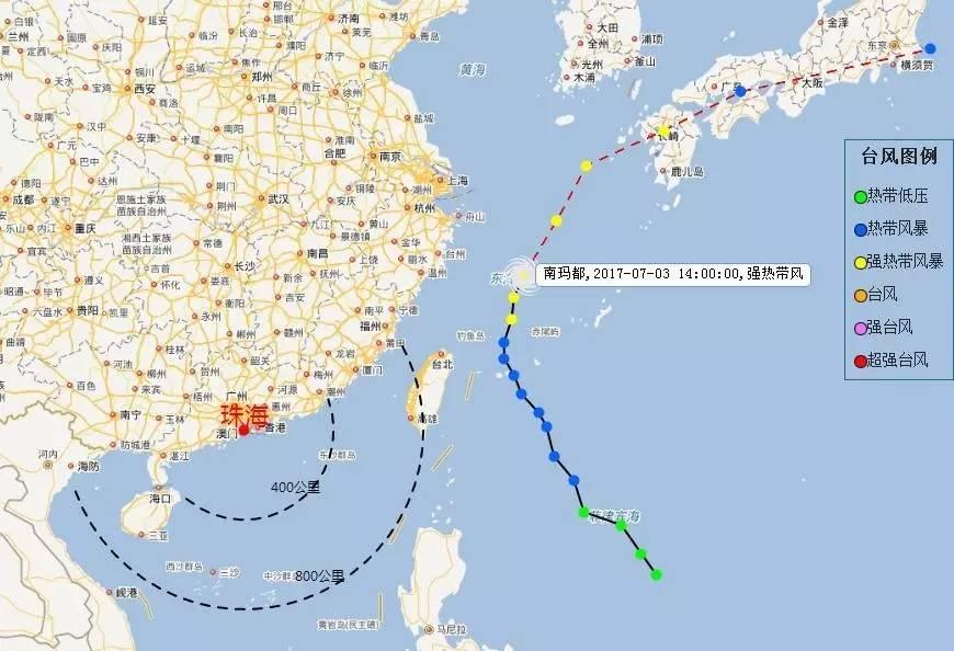 正式进入台风季 3号台风已在路上,珠海接下来的天气