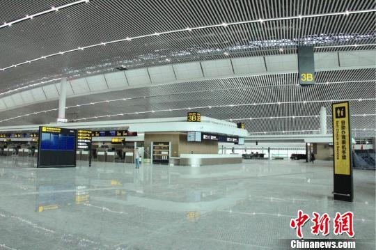 重庆江北机场T3航站楼预计7月底投用(组图)