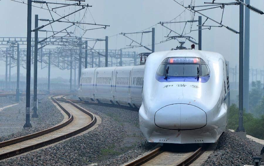 太焦高铁线路北起太原南,   才到济南,距离约700公里.图片