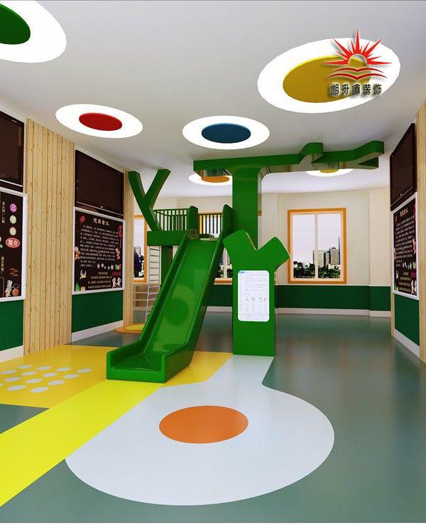 幼儿园室内活动场铺设幼儿园塑胶地板后的效果   幼儿园走廊铺设塑胶地板后的效果   幼儿园孩子休息室铺设塑胶地板后的效果   幼儿园地板装修,想要别出心裁胜人一筹,就要在材料和设计上下功夫.图片