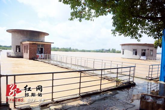 祁阳全力抢修水电设施 尽快恢复正常供水供电(组图)