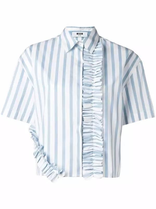 占领时尚圈半壁江山的 短袖衬衫 和夏天更配更清爽