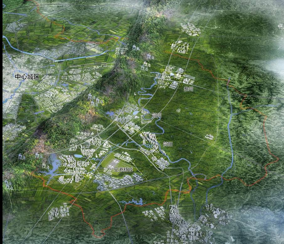 淮州新城规划蓝图