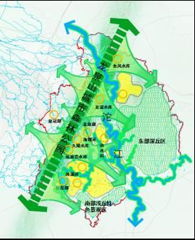 成都最新规划蓝图出炉 五大分区这样定位 龙泉山变城市绿心