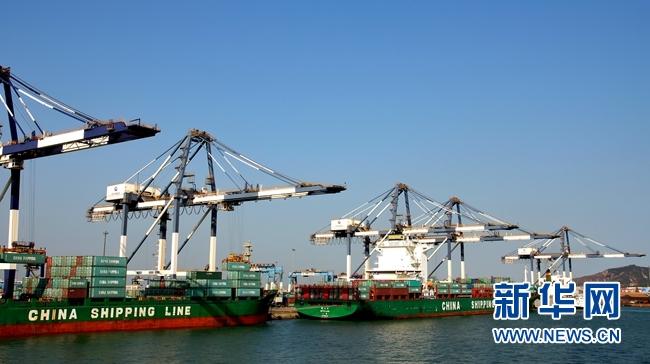 100天建成一座码头 烟台港在几内亚演绎