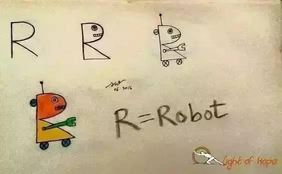 字母变身简笔画 不怕孩子学不会
