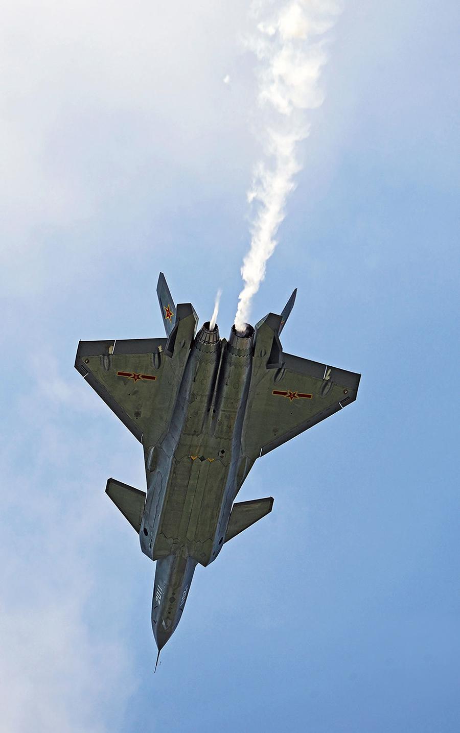 中国战斗机发展史上的一次里程碑 歼20量产了