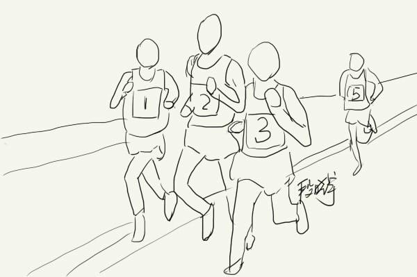 跑马拉松跑出的烦恼