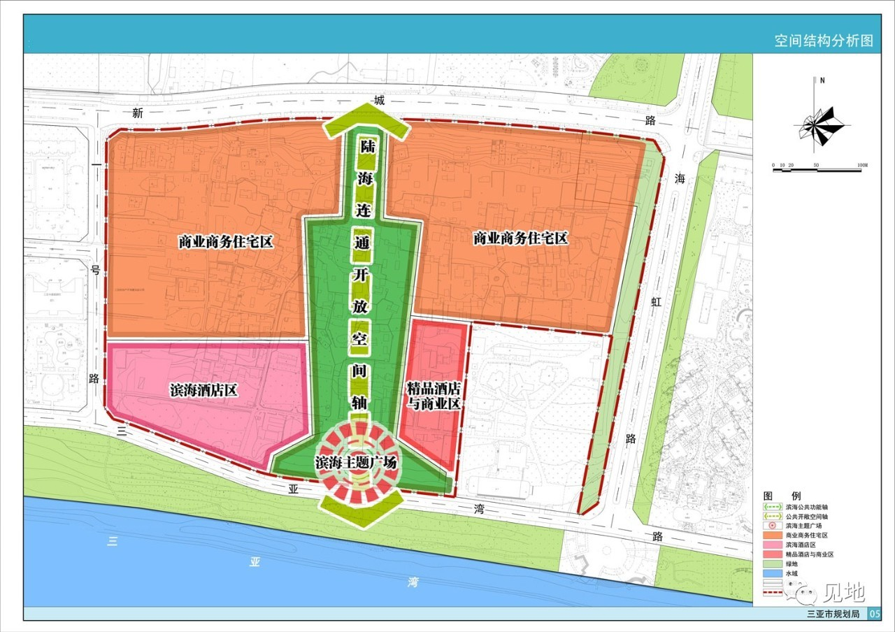 最新三亚市规划图