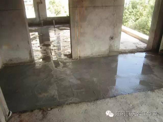 下沉式卫生间回填材料一定要确保干燥图片