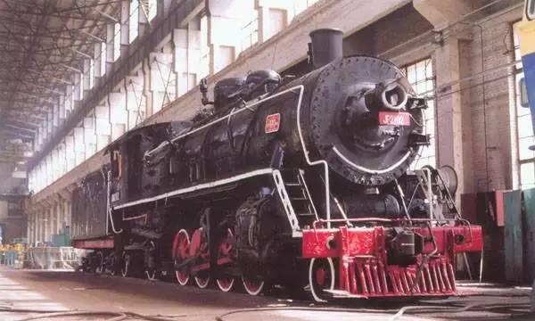 """解放""""型蒸汽机车.图片"""