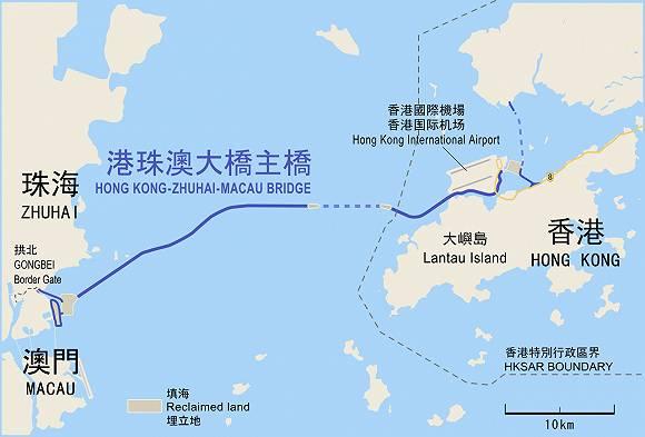 港珠澳跨海大桥主体工程全线贯通,使用寿命长达120年,桥体能抗16