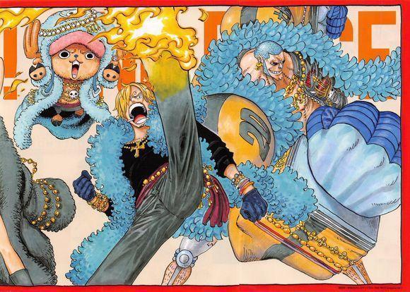 海贼王尾田原画 艾斯没死,和路飞一起被萨博救了 组图