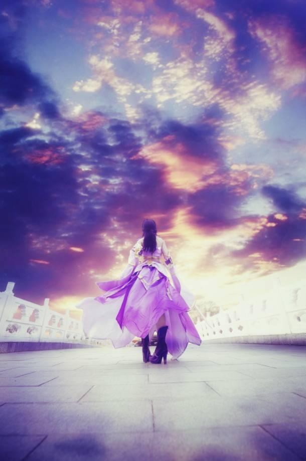 王者cos丨王者荣耀紫霞仙子露娜