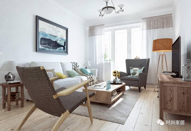 法式乡村,北欧风情与传统意大利风格的莫斯科公寓图片