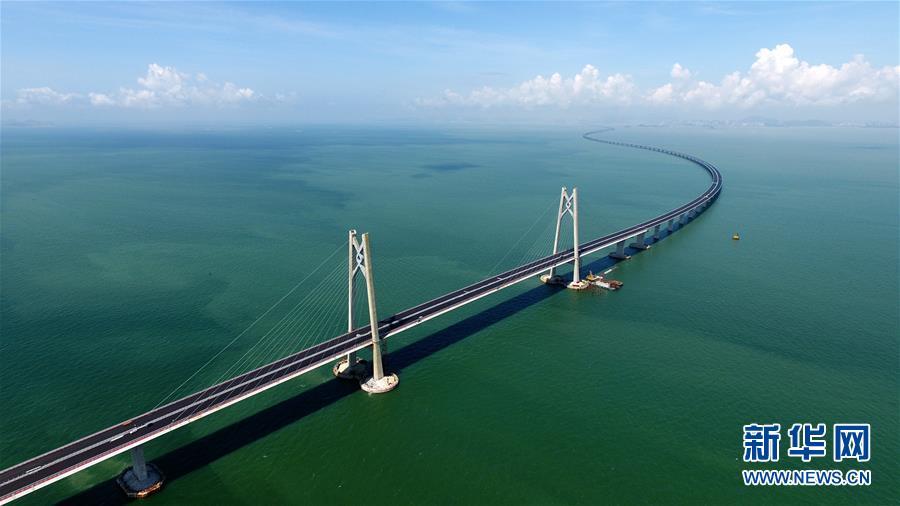 月7日,港珠澳大桥海底隧道正式贯通.-世纪工程 飞架粤港澳 技术最