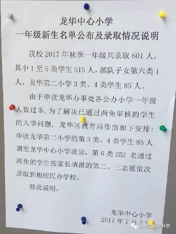 深圳10区学校录取学位录取!龙华这些初中出炉分数线生济南市结果v学校图片
