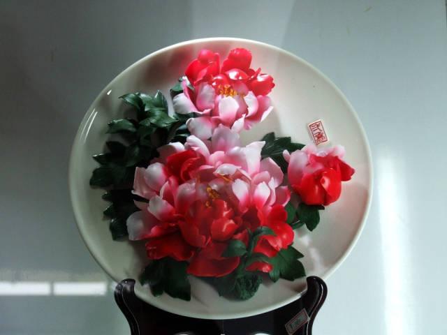 此花只应天上有 人间能得几回闻 - 精美瓷雕 刻花乱真