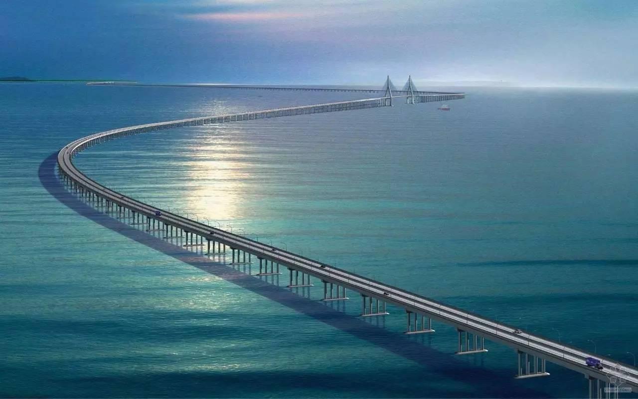 就在广东 全球最长的跨海大桥来了 以后去澳门只要30分钟