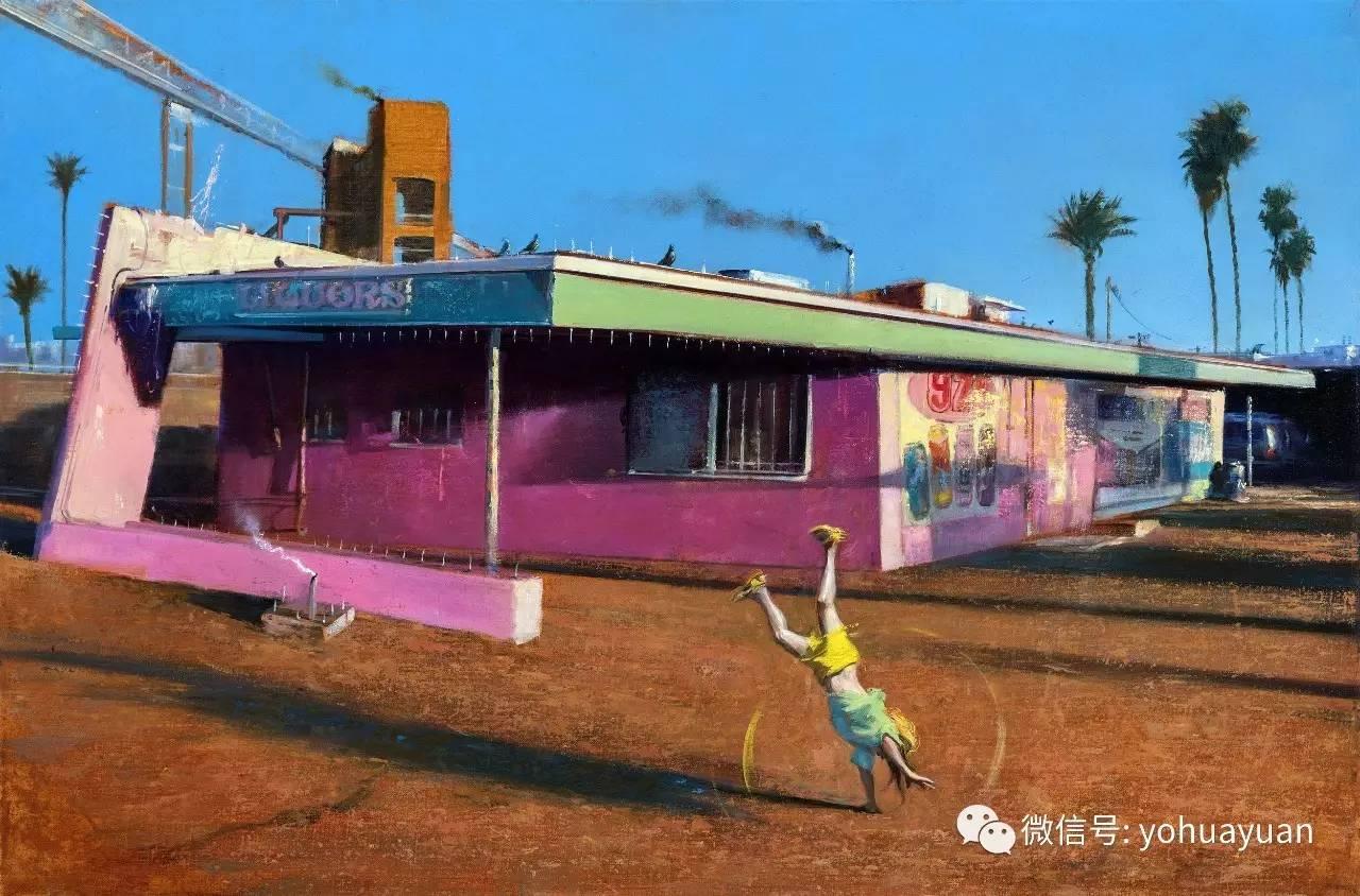 David FeBland生活场景写实绘画作品欣赏