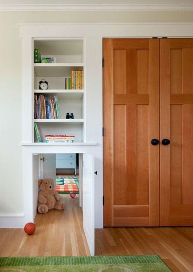 隐形门的创意原来这么多,不只是让门消失不见!