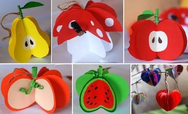 7款简单易学的水果创意手工,孩子超喜欢哦!图片
