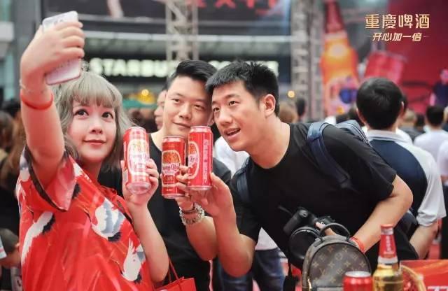 看了这条视频,没去成重庆啤酒77美食节的崽儿表示很心图片