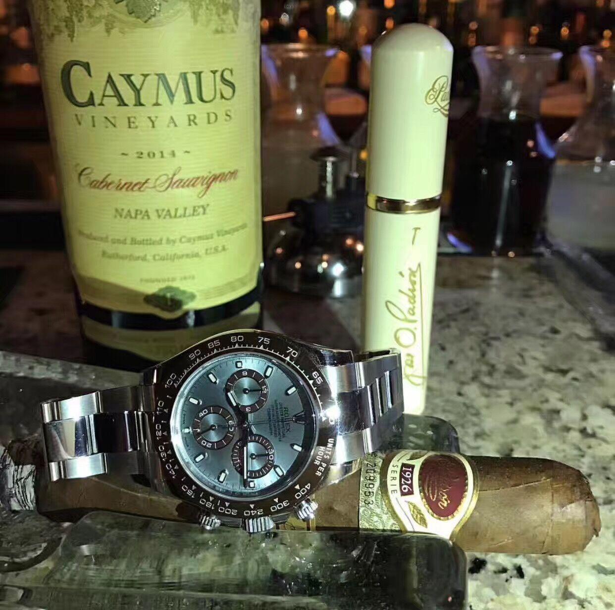 劳力士116506腕表Rolex冰蓝盘棕色外圈迪通拿评鉴