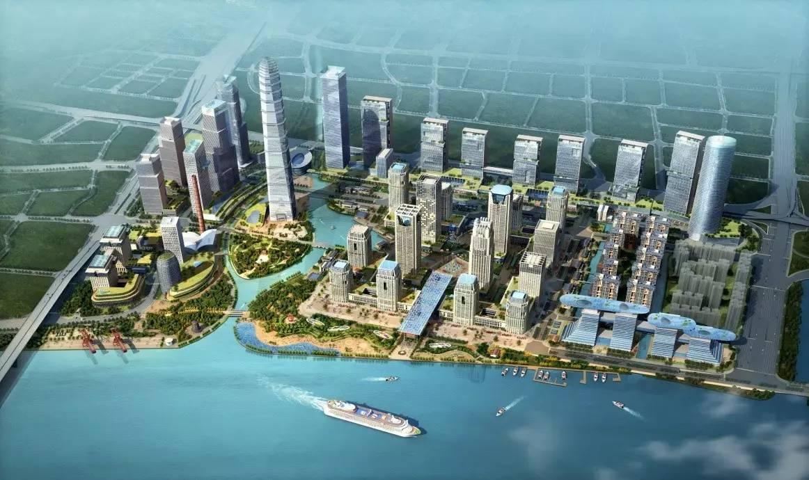 广州国际金融城起步区规划图
