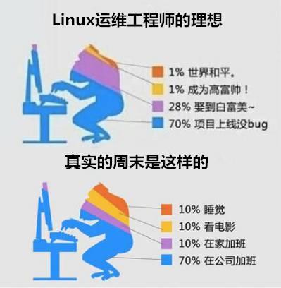 请好好善待你身边的linux运维工程师,因为他们.图片