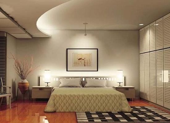 卧室吊顶,就是装修卧室的天花,具有美化卧室的作用,也能够通过吊顶来