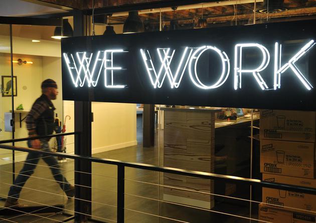 传共享办公空间WeWork获得G轮融资达7.6亿美元