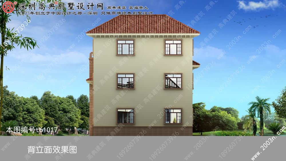 小户型别墅外观设计图纸首层145平方米