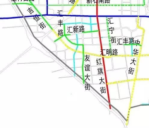 重磅 石家庄主城区5年规划修建100条道路,具体规划看这里